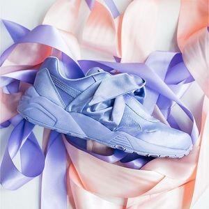 Puma x Fenty Lavender Bow Sneakers